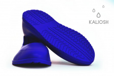 Blue universal silicone overshoes