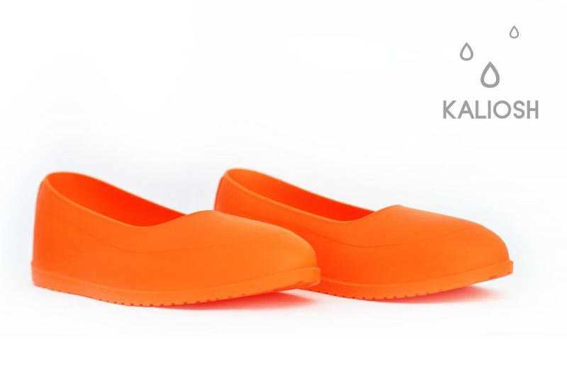 Oranžiniai universalūs silikoniniai antbačiai