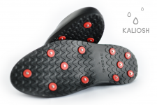 Galoshes with spikes