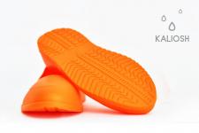 Orange universal silicone galoshes