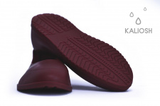 Brown universal silicone overshoes