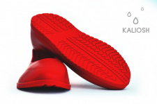 Red universal silicone overshoes