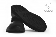 Black universal silicone overshoes